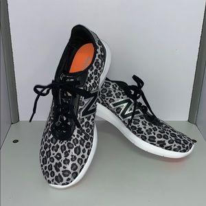 New Balance 514 Leopard Print Sports Shoes 8.5B